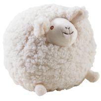 AUBRY GASPARD - Mouton en laine blanc Shaggy