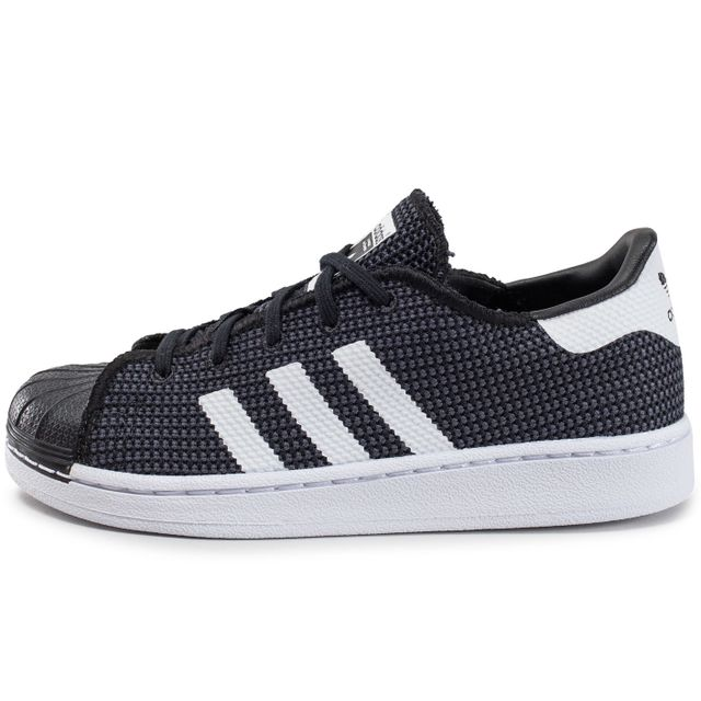 Adidas originals - Superstar Mesh Enfant Noire