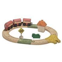 Plan Toys - Plantoys - Pt6604 - VÉHICULE Miniature - Rail - Circuit Ovale