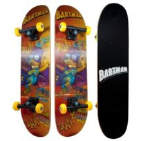 Ertedis - Les Simpsons Skateboard Hologramme Bart Simpsons