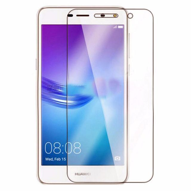Protection d/'Ecran en Verre Trempé Contre les Chocs pour Huawei Y6 2017