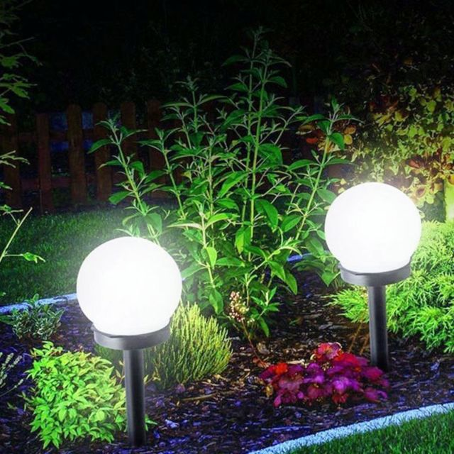 Lychee Lampe Solaire Exterieur Jardin Eclairage Submersible