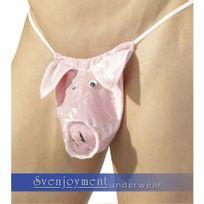 Svenjoyment - String Cochon Rose S/M/L
