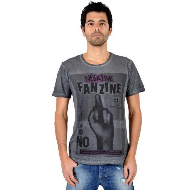 Eleven Paris - T-shirt Fanzine 1 Gris