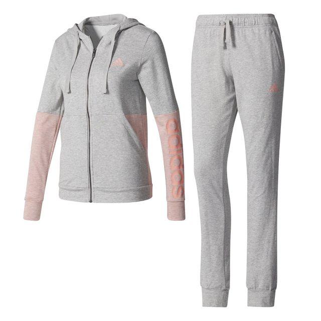 0a00330c7b Adidas - Survêtement Marker Hoodie Gris - XS - pas cher Achat / Vente  Survêtement femme - RueDuCommerce