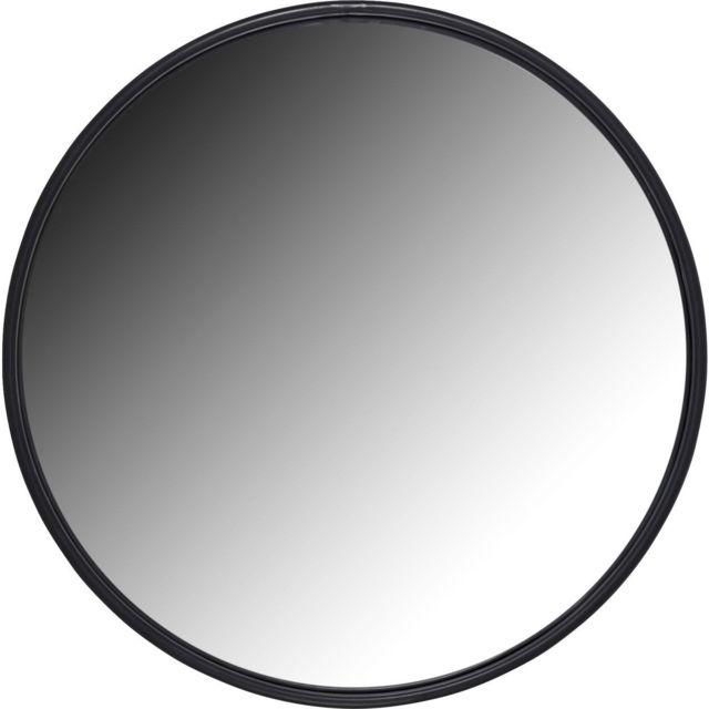 Karedesign Miroir Célébration noir mat 60cm Kare Design