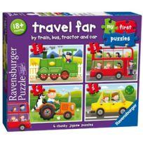 Toyland - Ravensburger My First Puzzles Travel Far