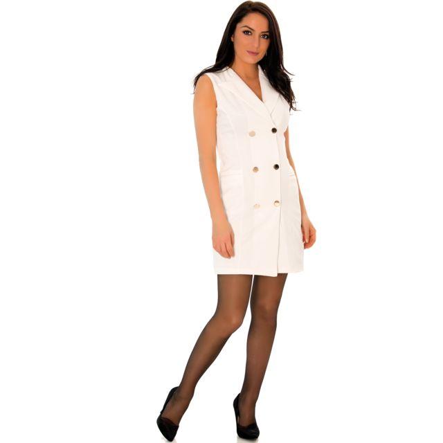 Jolie robe blanche pas cher