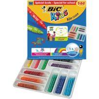 Bic Kids - feutres kid couleur assortis - classpack de 144