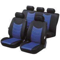 Générique - Set de Housses de siège auto Felicia - Bleu & Noir pour Dacia Duster depuis 2010