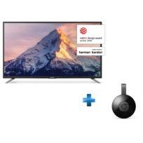 Sharp - TV LED 49'' - LC-49CFE5001E + Chromecast