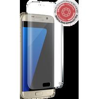 FORCE GLASS - Protège-écran en verre trempé Galaxy S7 Edge - Optimal pour le 3D touch - Haute résistance - 0.33mm