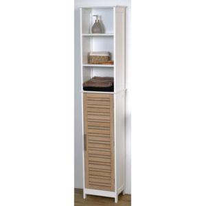 tendance colonne salle de bain bicolore blanc pas cher achat vente colonne de salle de. Black Bedroom Furniture Sets. Home Design Ideas