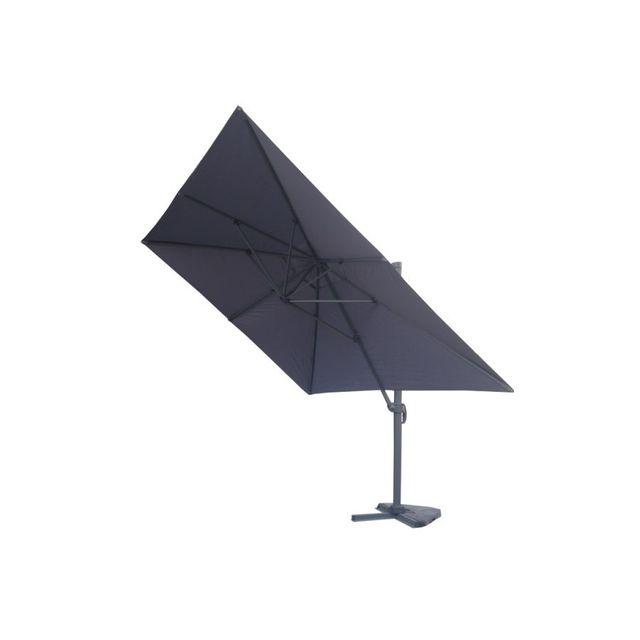 rocambolesk magnifique parasol d port 3x4m proxima gris pas cher achat vente parasols. Black Bedroom Furniture Sets. Home Design Ideas