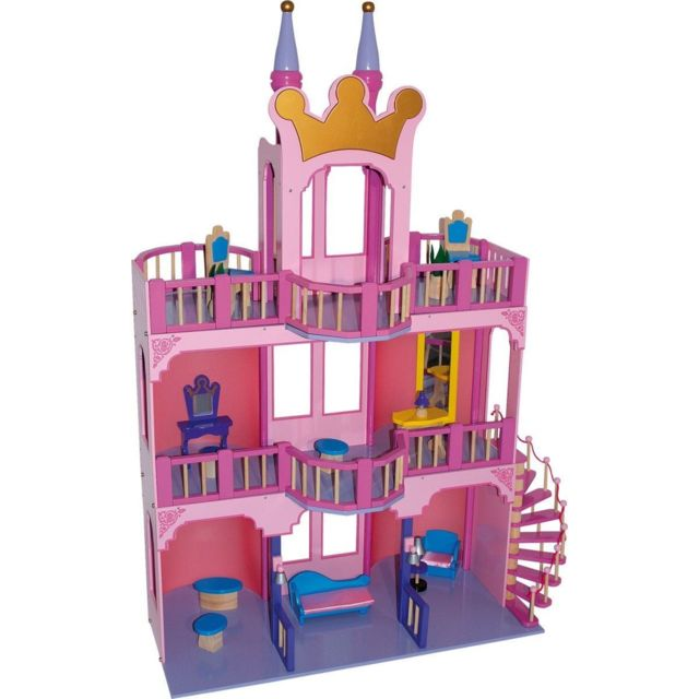 Small Foot Company Maison De Poupées «château De Conte