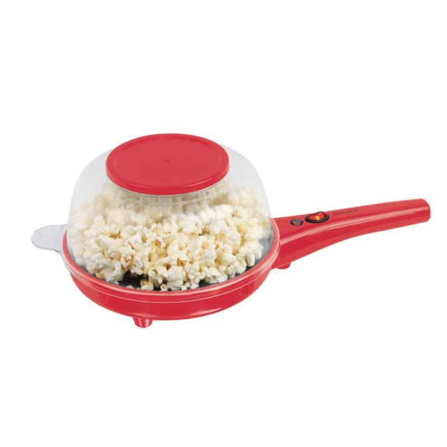 Domoclip Machine à pop-corn 3 en 1 Dom350