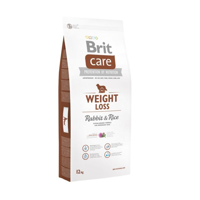Brit Care Chien Weight Loss Lapin Riz