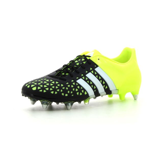 new styles dbf1e 292c5 Adidas performance - Chaussures de Football Ace 15.1 Sg - pas cher Achat   Vente Chaussures foot - RueDuCommerce