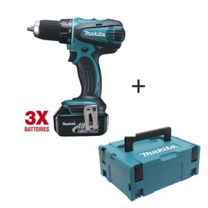 makita perceuse visseuse 18v li ion 3ah coffret mak pac ddf456rf3j pas cher achat vente. Black Bedroom Furniture Sets. Home Design Ideas
