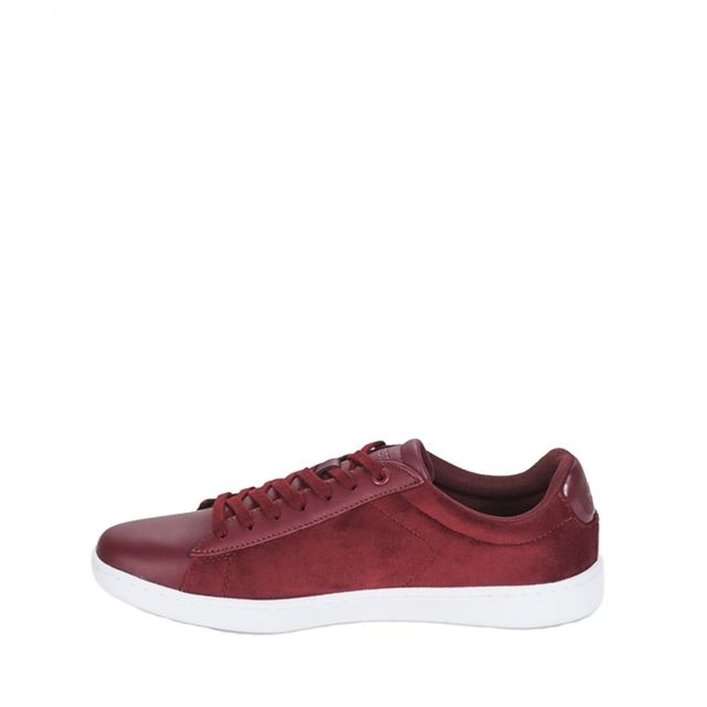 2c9dba72cf Lacoste - Basket Carnaby Evo 317 8 Spw - Ref. 736SPW00152H2 - pas cher Achat  / Vente Baskets femme - RueDuCommerce