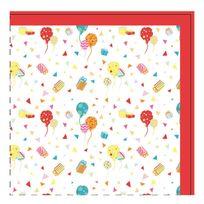 Yoopy - Serviettes en papier Anniversaire Lot de 20