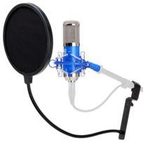 Pronomic - Cm-100B microphone de studio à grande membrane & filtre anti pop