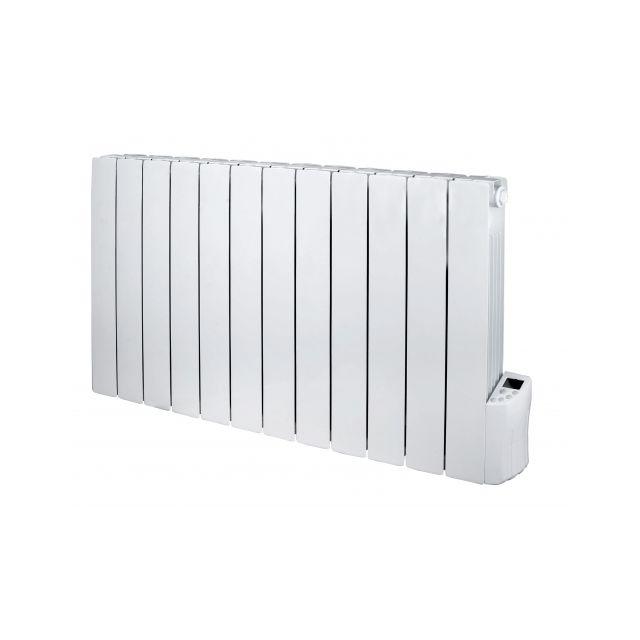 warm tech radiateur inertie fluide 2000w 12 elements 2. Black Bedroom Furniture Sets. Home Design Ideas