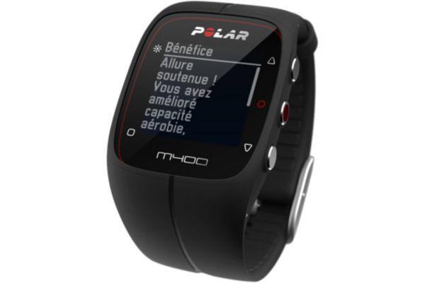 POLAR Montre GPS M400 Noir