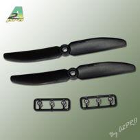 Gemfan - Hélice Slow Fly noir 5x3 2 pcs, A2PRO