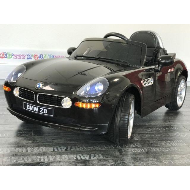 bmw voiture lectrique b b 1 6 ans 12v z8 noir pas cher achat vente v hicule. Black Bedroom Furniture Sets. Home Design Ideas