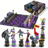 Noble Collection - Batman jeu d´échecs Dark Knight vs Joker
