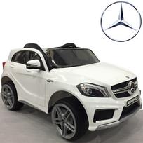 Mercedes - Voiture quad électrique bébé enfant pneus Eva 12V Blanc