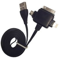 Cabling - Cable Usb 3 en 1 Usb pour Iphone 3/3GS/4/4S Iphone 5//MICRO Usb Samsung Htc