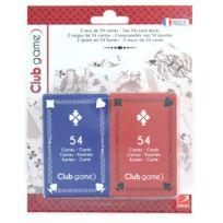 Lgri - Set de 2 jeux de 54 cartes