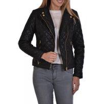 Veste cuir kaporal pour femme