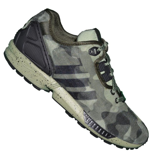 newest collection 4db5f 66739 czech haute qualité adidas originals zx flux camo pour femme vert noir brun  beige hv84542 saison clearance 2aaed 46f4e  sweden adidas originals basket  ...