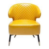 Karedesign - Fauteuil Session jaune Kare Design