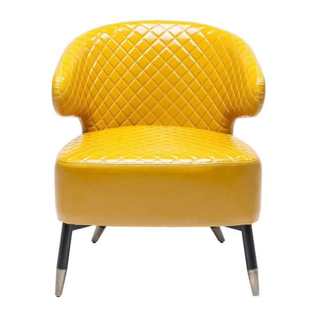 Karedesign Fauteuil Session jaune Kare Design