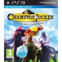 Playstation 3 - Champion Jockey G1 Jockey Et Gallop Racer Jeu Ps Move