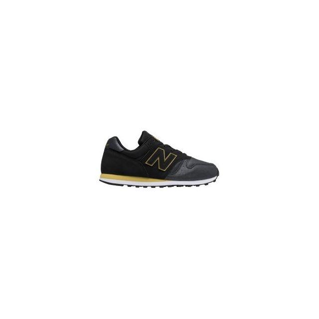2ad3e53341aec New Balance - Chaussures Wl 373 cuir noir femme - pas cher Achat ...