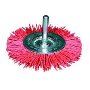 "Osborn - Brosse circulaire, fil abrasif oxyde d'aluminium ""Grittyflex"" avec tige de 6 mm. Couleur bleu 600 491-7802"