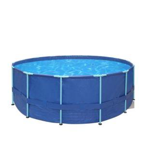carrefour piscine tubulaire ronde tahiti dia 366 x 76 cm od14887 pas cher achat vente. Black Bedroom Furniture Sets. Home Design Ideas