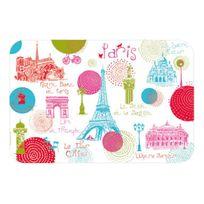 Torchons Et Bouchons - Set De Table Paris Ronds Colores
