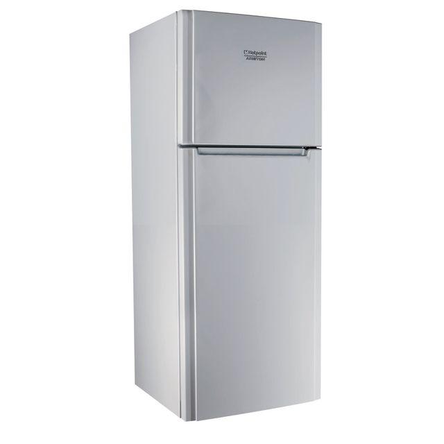 HOTPOINT - Réfrigérateur - 414 L - A+ - 70cm - Froid brassé - Argent