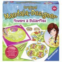 RAVENSBURGER - Mandala Designer Flowers & butterflies - 29809
