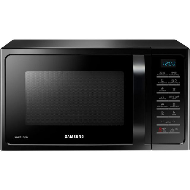 Samsung micro-ondes combiné multifonctions 28l 900w - mc28h5015ck