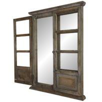 Miroir fenetre achat miroir fenetre pas cher rue du for Miroir 3 volets