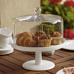 Asa - Plat à gâteau en céramique - D. 29 cm Grande