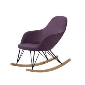 soldes rendez vous deco rocking chair malibu violet pas cher achat vente fauteuils. Black Bedroom Furniture Sets. Home Design Ideas
