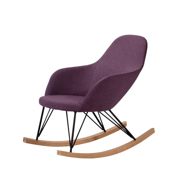 Rendez Vous Deco Rocking chair Malibu violet